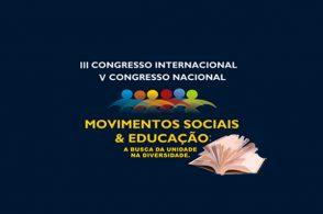 3º Congresso Internacional e 5º Congresso Nacional Movimentos Sociais e Educação