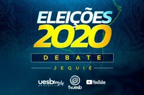 Eleições 2020 - Debate entre os candidatos a prefeito de Jequié