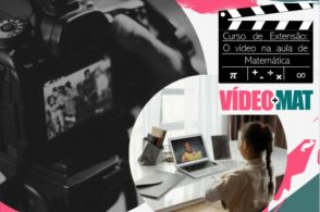 Curso abordará utilização de vídeo na Educação Matemática
