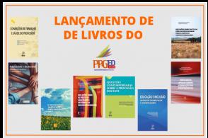 Lançamentos virtuais de livros do Programa de Pós-Graduação em Educação