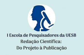 """Curso """"Redação Científica: do projeto à publicação"""""""