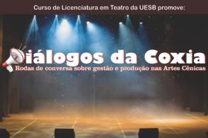 Diálogos da Coxia - Rodas de conversa sobre gestão e produção nas Artes Cênicas