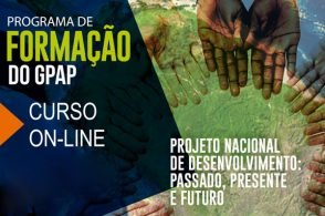 """Programa de formação """"Projeto Nacional de Desenvolvimento: passado, presente e futuro""""."""