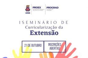 1º Seminário de Curricularização da Extensão da Uesb